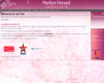 Photo du site de Marilyn Heraud, voix off