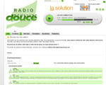 Photo du site de Radio médecine douce